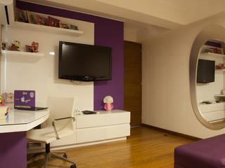 Modern Bedroom by Jennifer Junek Arquiterctura interior residencial y comercial Modern