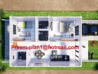 แปลนอาคารพาณิชย์:  วิลล่า by รับเขียนแบบบ้าน&ออกแบบบ้าน