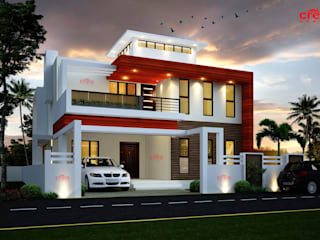 Creative Home Designs in Kerala Asian style houses by CreoHomes Pvt Ltd Asian