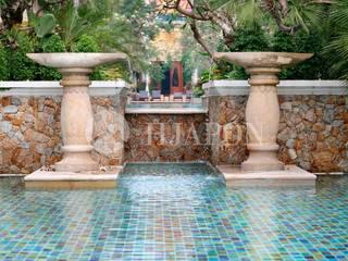 Dream Home Project: Jardines con piedras de estilo  de Hjapón - Inmobiliaria de lujo en Barcelona
