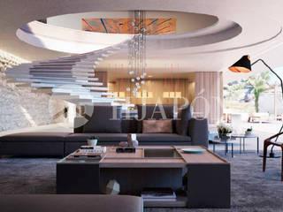 Dream Home Project: Salones de estilo  de Hjapón - Inmobiliaria de lujo en Barcelona