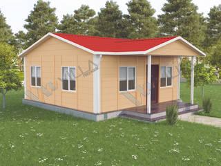 45 m2 tek katlı prefabrik ev - 40.250 TL VİLLA DİZAYN PREFABRİK Modern