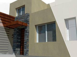 Casa LYA: Casas unifamiliares de estilo  por Dinamismo Arquitectura,Moderno