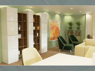 Projecto de mobiliário para apartamento em Lisboa por Madeira Negra Moderno
