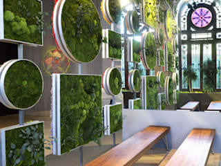 Espaces de bureaux modernes par MANAO Moderne