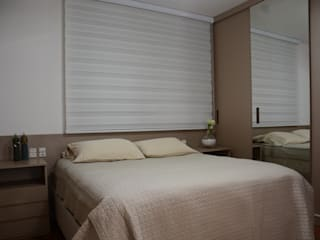 غرف نوم صغيرة تنفيذ arquiteta aclaene de mello,