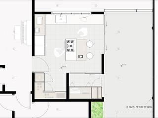 CRIA UM por Diade Arquitetos Minimalista