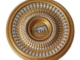 Hiasan Lampu Plafon 58 Cm Lamplate - Dome Plafon Oleh Tecto Plafon Klasik