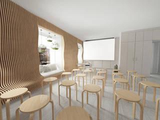 Аудитория №54 (пространство для мероприятий): Школы и учебные заведения  в . Автор – Yurov Interiors,