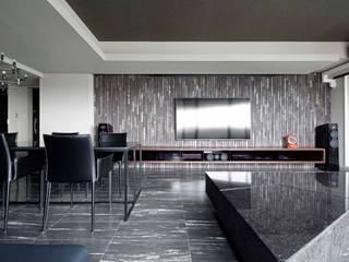 15F boutique モダンデザインの リビング の 一級建築士事務所 GLA モダン