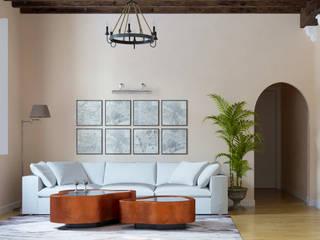 Квартира в историческом центре г.Пальма-де-Майорка: Гостиная в . Автор – Yurov Interiors,