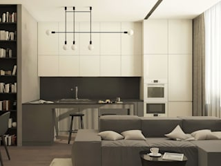 Kitchen by Yurov Interiors,