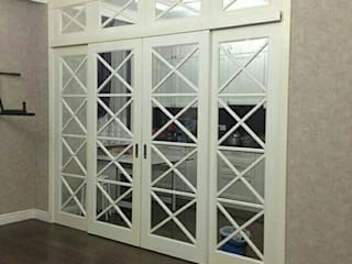 ГЕОНА. Glass doors White