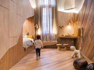 Детские комнаты в . Автор – Estudio Plok, Скандинавский