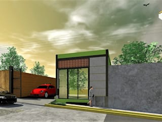 Casas industriales de MARQ. Arquitectos. Industrial