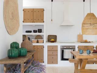 Casa payesa en las Salinas, Ibiza. de Estudio Mireia Pla Rústico