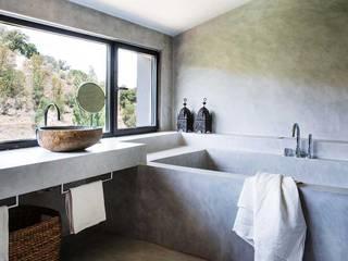 Bienvenidos a la casa de Alhaurín Baños de estilo rústico de Estudio Mireia Pla Rústico