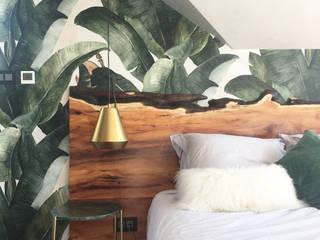 Eclecticismo en Londres Dormitorios de estilo rústico de Estudio Mireia Pla Rústico
