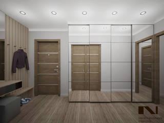 Частная квартира, 42 кв. м., г. Магнитогорск Коридор, прихожая и лестница в стиле минимализм от студия дизайна интерьеров Веры Невской Минимализм