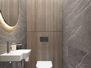 ÖZÇEKİRGE İNŞAAT LTD ŞTİ – 3d iç mekan projeleri:  tarz Banyo