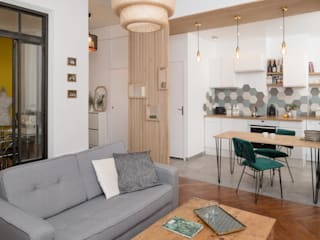 Camille BASSE, Architecte d'intérieur Living room