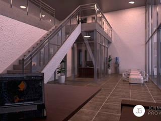 Propuesta: Laboratorios de Diseño y construcción Estudios y despachos modernos de JENNGELCONSTRUCTORES Moderno