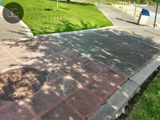 Rehabilitación de sendero peatonal de JENNGELCONSTRUCTORES