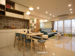 【極  光】:  餐廳 by 欣和室內規劃設計有限公司