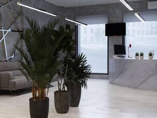 Офис г.Краснодар Офисы и магазины в стиле минимализм от ArdekoDesign Минимализм