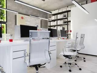 Офис г.Краснодар Офисные помещения в стиле минимализм от ArdekoDesign Минимализм