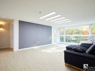 신정 세양청마루 33py 모던스타일 거실 by 곤디자인 (GON Design) 모던