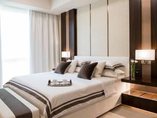 Neutral and Serene Minimalist bedroom by Design Intervention Minimalist