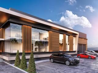 ANTE MİMARLIK Oficinas y tiendas de estilo moderno
