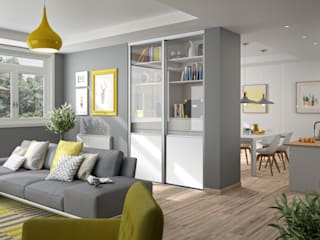 Kazed Living roomCupboards & sideboards Chipboard Transparent
