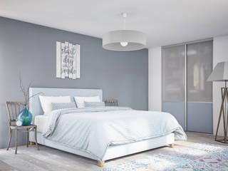 Kazed DormitoriosArmarios y cómodas Aglomerado Transparente