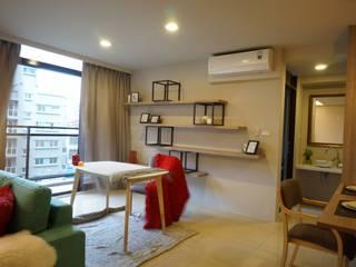 Modern Study Room and Home Office by 璞玥室內裝修有限公司 Modern