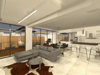 ห้องนั่งเล่น โดย Arquitecto Rafael Balbi , มินิมัล