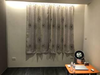 主臥窗戶:  臥室 by 心之所向設計美學工作室