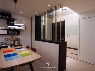 Modern Dining Room by 璞玥室內裝修有限公司 Modern