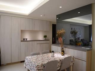 台中新成屋設計 - 帶有東方人文氣息的舒適居所 根據 台中室內設計裝修|心之所向設計美學工作室 日式風、東方風