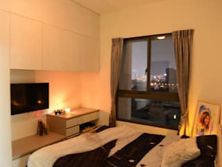 主臥室 根據 台中室內設計裝修|心之所向設計美學工作室 日式風、東方風