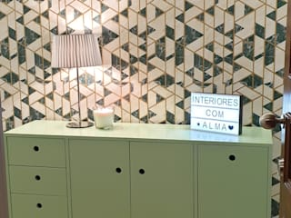 Alma Braguesa Furniture Ingresso, Corridoio & Scale in stile eclettico MDF Verde