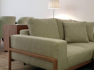 Alma Braguesa Furniture Livings de estilo ecléctico Madera maciza Verde