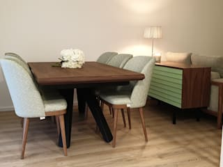 Scandinavian style dining room by Alma Braguesa Furniture Scandinavian