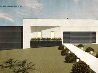 ATELIER OPEN ® - Arquitetura e Engenharia Landhaus Eisen/Stahl Beige