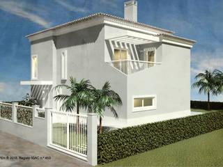 ATELIER OPEN ® - Arquitetura e Engenharia Villa Eisen/Stahl Grau