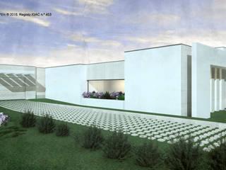 ATELIER OPEN ® - Arquitetura e Engenharia Garagentore Aluminium/Zink Beige