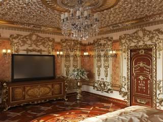 Luxury arabic bedroom. Роскошная арабская спальня.: Спальни в . Автор – Patanin Luxury Design