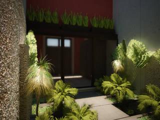 TH Santiago Casas eclécticas de Grupo Inmobiliario Dofer Ecléctico
