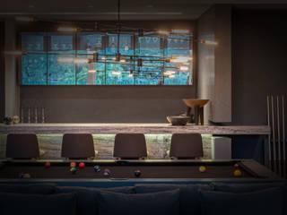 Interiores:  de estilo  por Eduardo Zamora arquitectos,